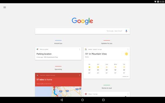 8 Schermata Google