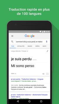Google capture d'écran 6