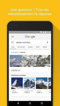 Google capture d'écran 1