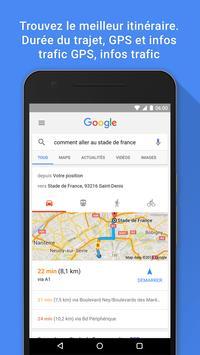 Google capture d'écran 3
