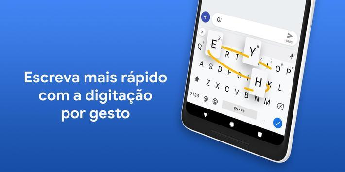 Gboard, o Teclado do Google Cartaz