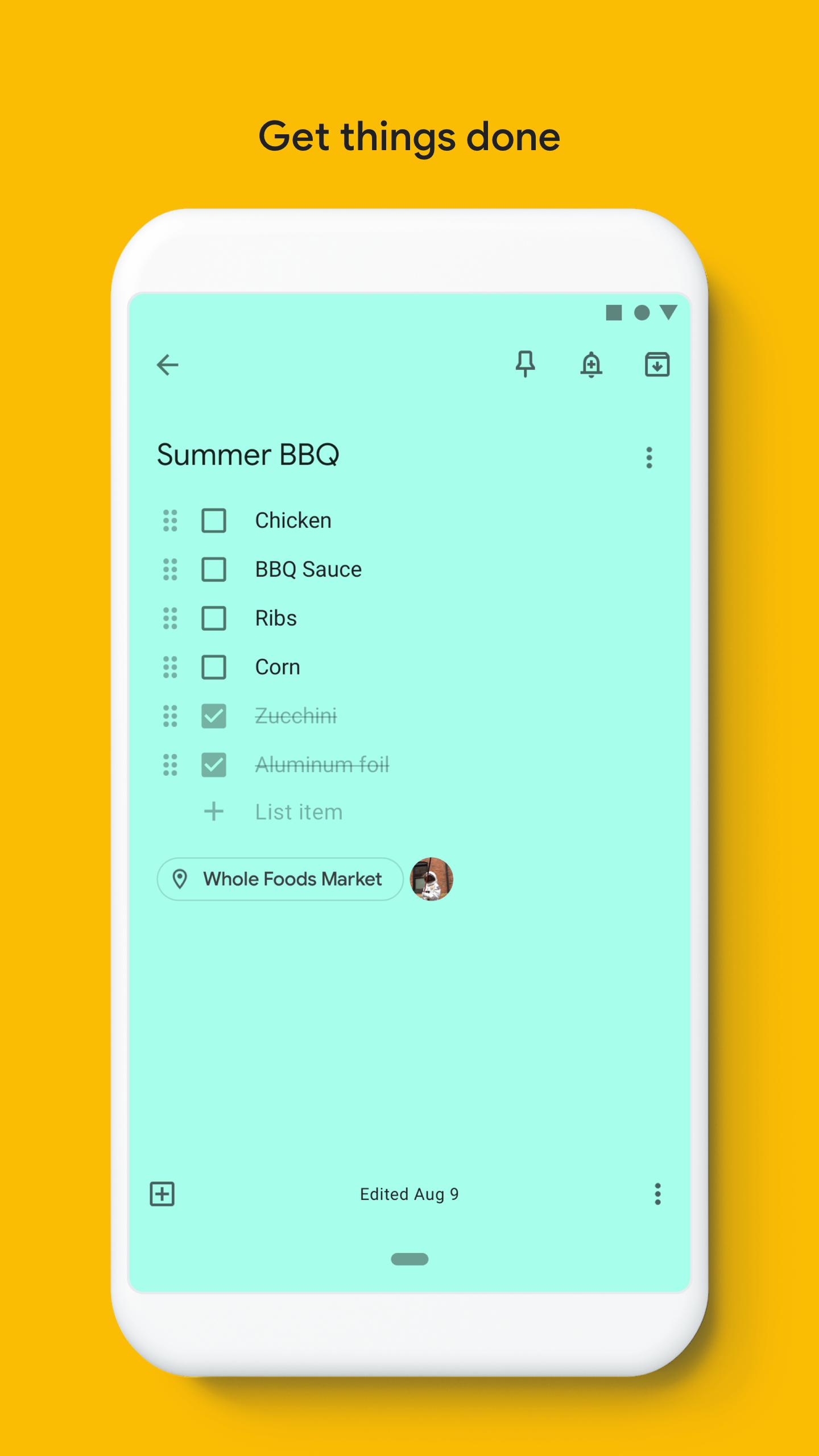 Google Keep - Notes and Lists for Android - APK Download