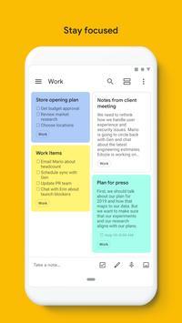 Google Keep: notas y listas captura de pantalla 4