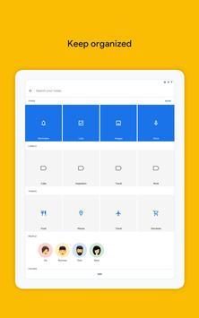 Google Keep: notas y listas captura de pantalla 7