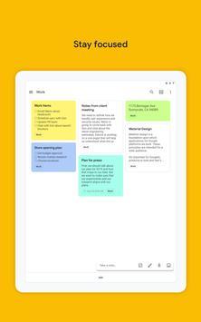 Google Keep: notas y listas captura de pantalla 9