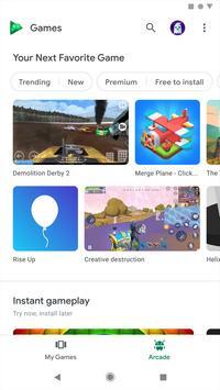 Google Play Juegos captura de pantalla 1