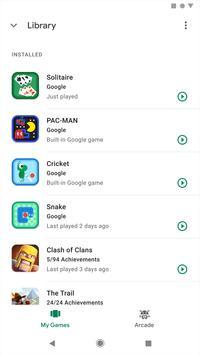 Google Play Juegos captura de pantalla 3