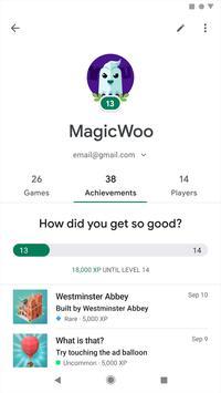 Google Play Juegos captura de pantalla 4