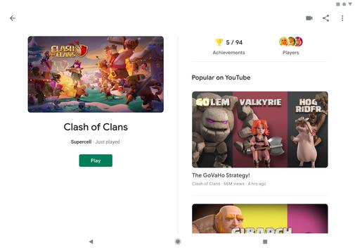 Google Play Juegos captura de pantalla 8