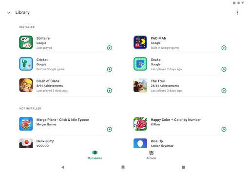 Google Play Juegos captura de pantalla 9