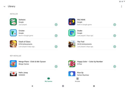Google Play Games screenshot 9