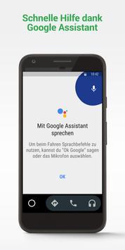 Android Auto Plakat