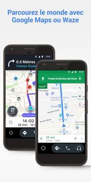 Android Auto capture d'écran 1