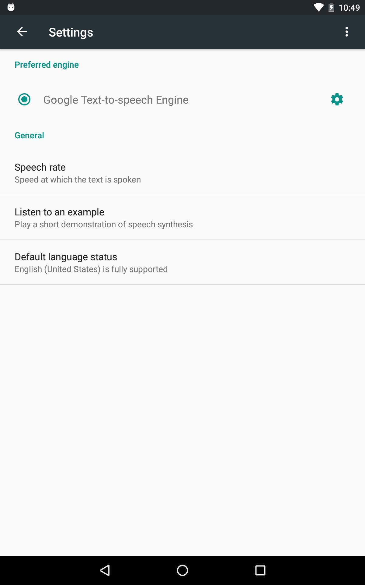 Google Text-to-Speech poster