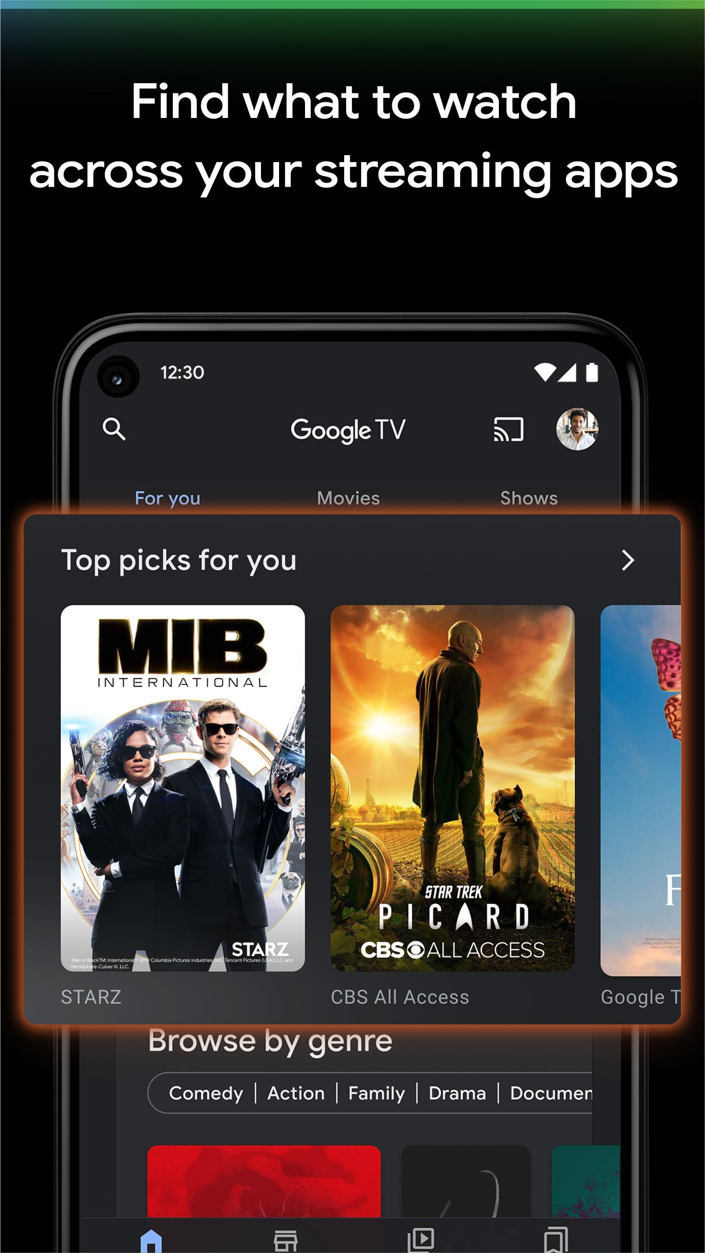 Google TV (previously Play Movies & TV) poster
