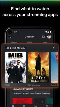 Google TV (previously Play Movies & TV) 스크린샷 1