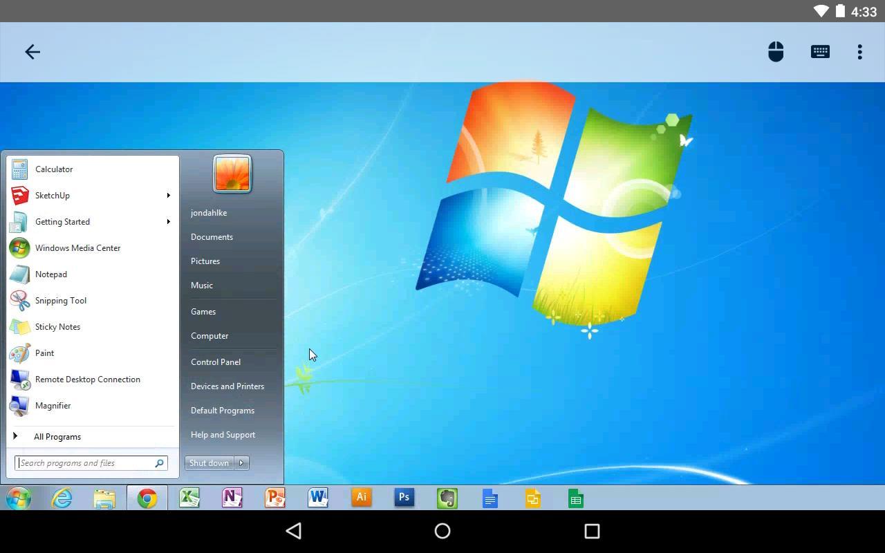 سطح المكتب البعيد من Chrome For Android Apk Download