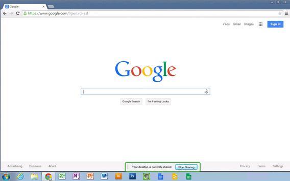 Chrome Remote Desktop screenshot 7