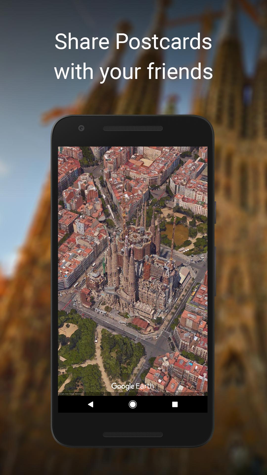 google earth cho android apk