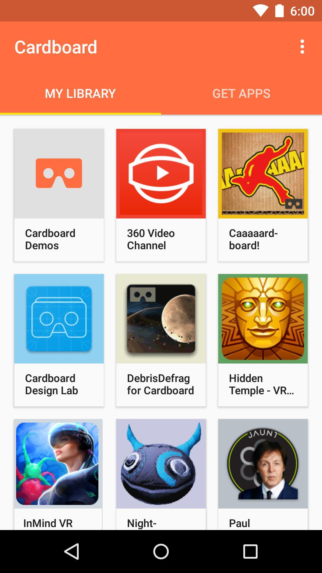 download cardboard app apk