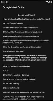 Meet- Video Conference App Guide poster
