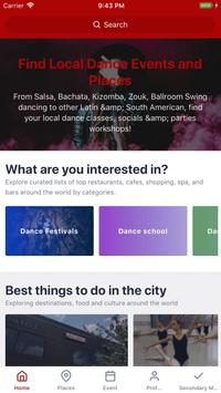 Go Out Dancing - Local Dance Socials and Festivals poster