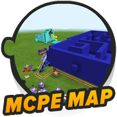 Happy Pac-man map for Craft icon