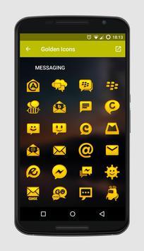 Golden Icons screenshot 1