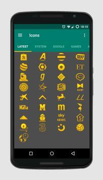 Golden Icons screenshot 2