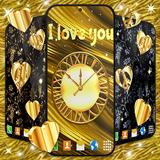 Gold Hearts 4K Wallpaper 💛 Golden live Wallpaper