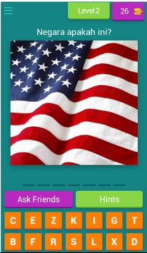 Teka Nama Bendera Negara screenshot 2
