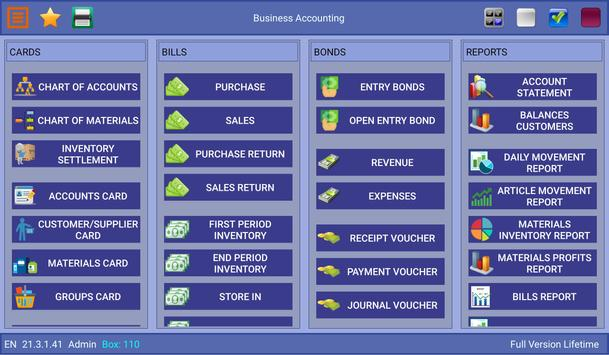 Business Accounting Screenshot 7