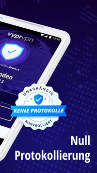 VPN: VyprVPN privat & sicher Screenshot 1