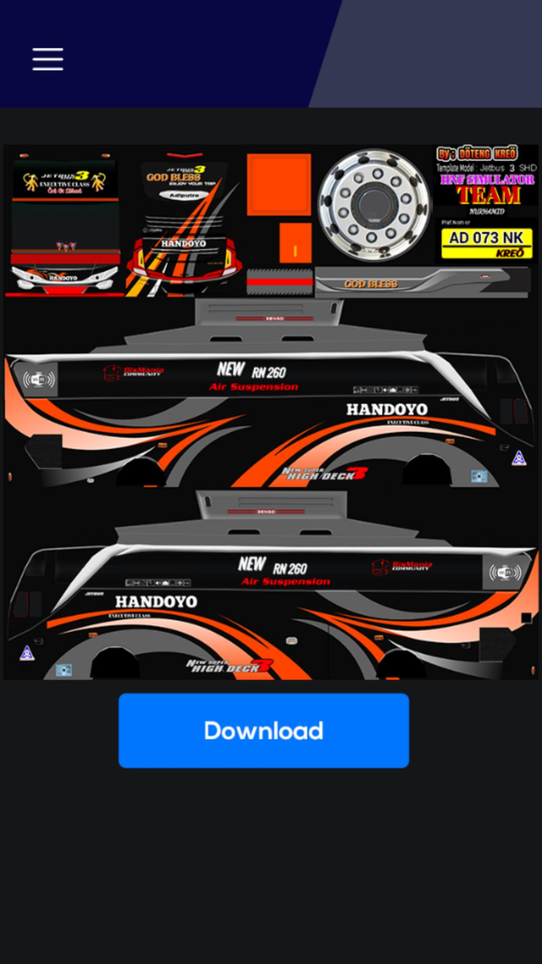 Livery Bus Jetbus 3 For Android Apk Download