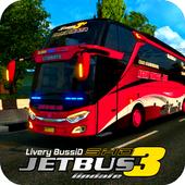 Livery Bussid Jetbus 3 SHD icon