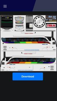 Livery Bussid Jetbus 3 SHD screenshot 3