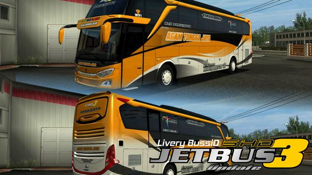 Livery Bussid Jetbus 3 SHD poster