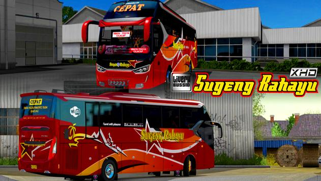 Livery Sugeng Rahayu XHD poster