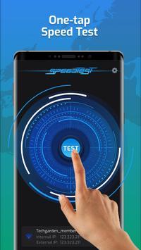 Wifi Speed Tester dan Signal Strength, Speed Test penulis hantaran