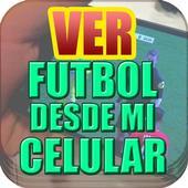 Ver Futbol Desde Mi Celular Gratis HD Tv Guia icon
