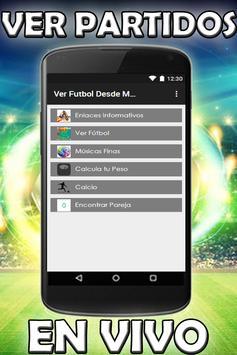 Ver Futbol Desde Mi Celular Gratis HD Tv Guia screenshot 6