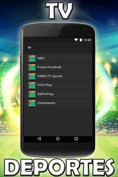Ver Futbol Desde Mi Celular Gratis HD Tv Guia screenshot 9