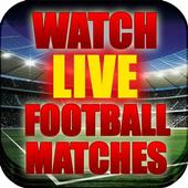 Watch Live Football Matches icon