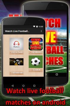 Watch Live Football Matches screenshot 1
