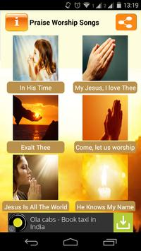 Praise and Worship Songs 截图 1