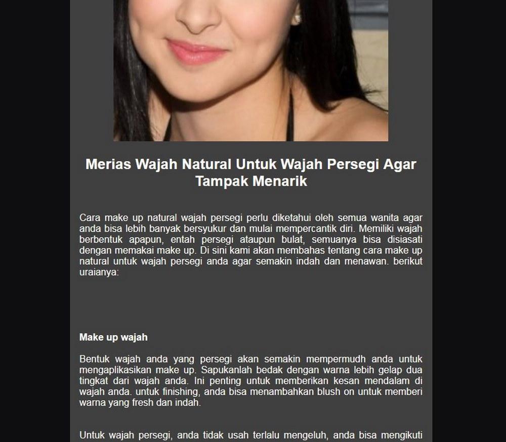 Merias Wajah Cantik For Android Apk Download