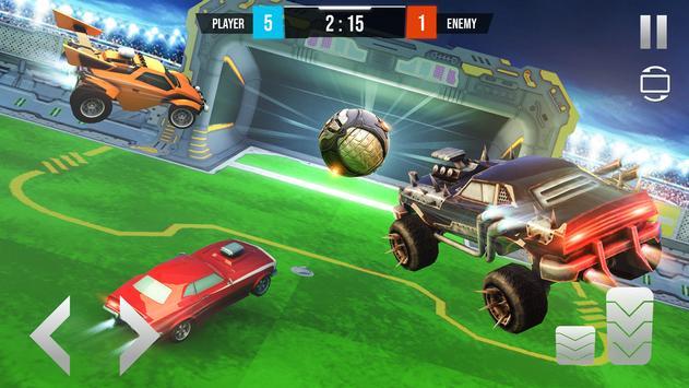 Car Football League Destruction: Rocket League screenshot 5