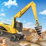 Heavy Bulldozer Crane Drill Stone APK