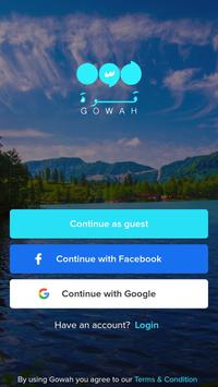 Gowah app Cartaz