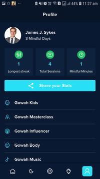Gowah app captura de pantalla 3